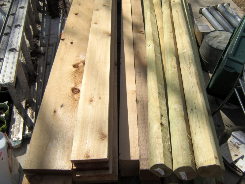 cedar lumber and timbers